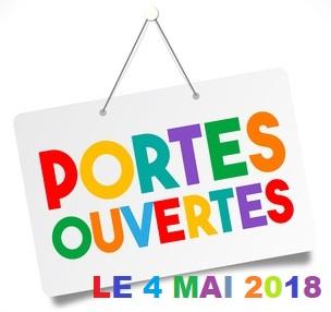 La journée portes ouvertes aura lieu le 4 mai 2018