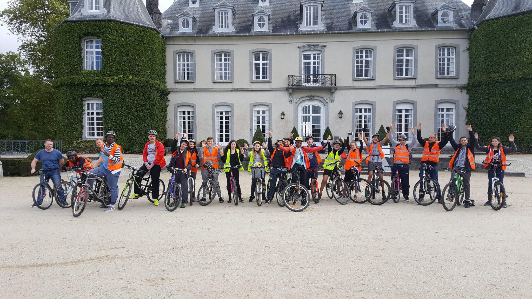 Voyage scolaire vélo