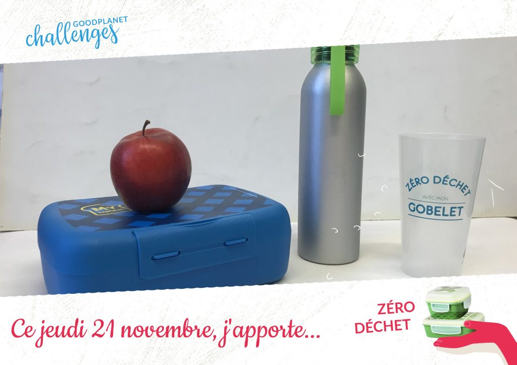 Challenge « Zéro Déchet » de Good Planet !